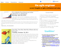 the agile engineer home page